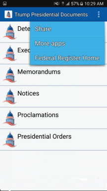 app to date how many executive orders
